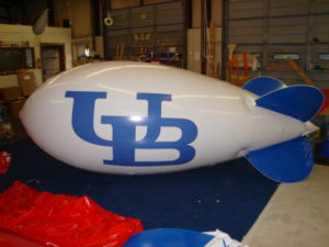 helium advertising blimp - how much do advertising blimps cost